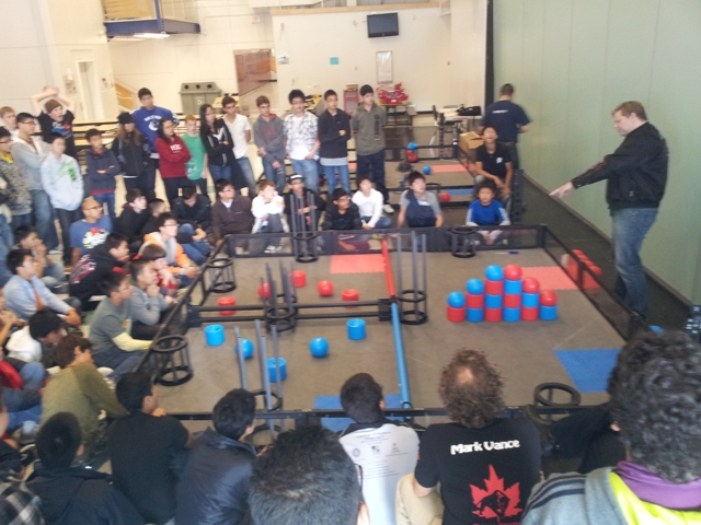 "First VEX ""Idea Factory"" Held in B.C. (Sept 17)"
