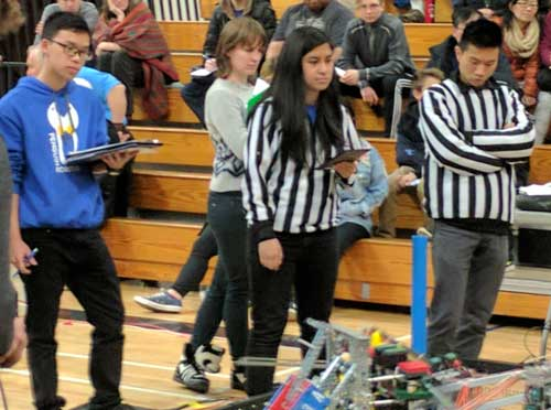 vex robotics judges and refs and role models