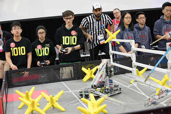 BC's 1010X Ranks Fifth in the World at VEX World Championship