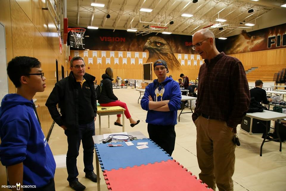 VEX Robotics tournament inspection